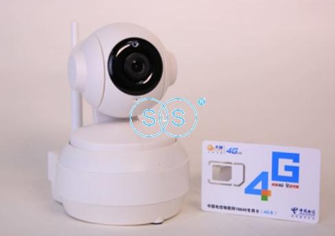 360度无线4G球机摄像头