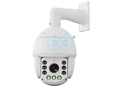 10寸可录音彩光网络无线球机摄像头